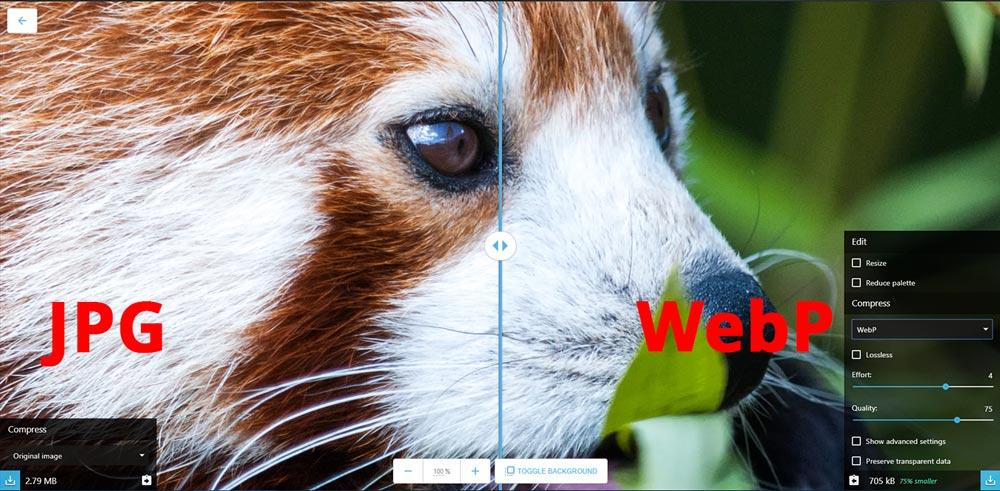 Формат WebP — как использовать и зачем он нужен