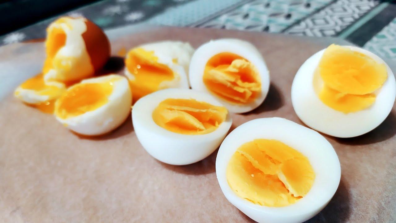вареный яйца